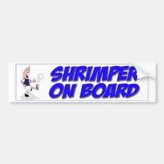 Shrimper Sticker