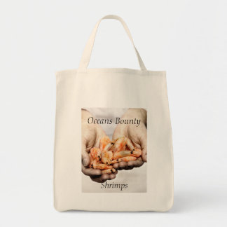 Shrimps Photography with Customisable Text Tote Bag