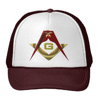 SHRINE-Masons-Fez Mesh Hats