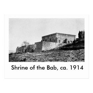 Shrine of the Bab, ca. 1914 Postcard