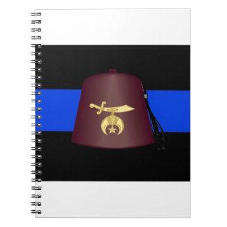 shrineblueline notebook
