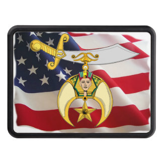 Shriner Personalized Trailer Hitch Cover