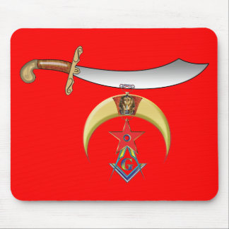 Shriners Mason Mouse Pad