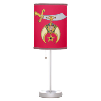 SHRINERS TABLE LAMP