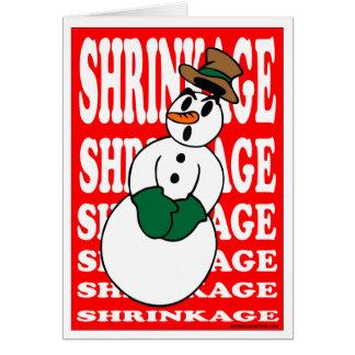 SHRINKAGE CARD