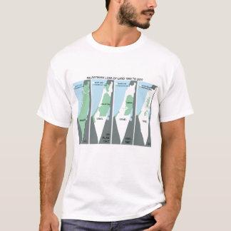 Shrinking Map of Palestine T-Shirt
