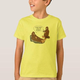 Shrink's Office Funny Sasquatch Cartoon Custom Tshirt
