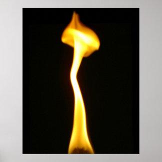 Shroom Flame poster