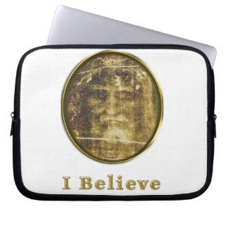 shroud of turin laptop sleeve