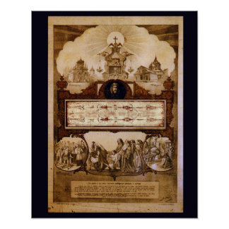 Shroud of Turin Reproduction Poster
