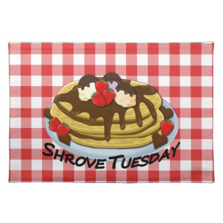 Shrove Tuesday - pancakes Placemat