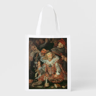 Shrovetide Revellers (The Merry Company) c.1615 (o Market Tote