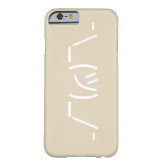 Shrug emoticon iPhone 6/6s phone case