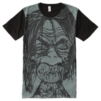 Shrunken Head Mens Graphic T-shirt