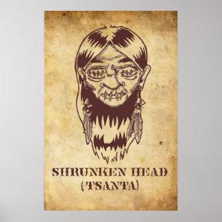 Shrunken Head Poster