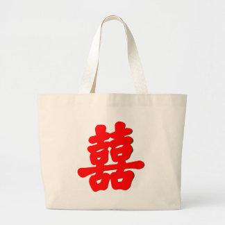 Shuan Xi Large Tote Bag