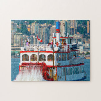 Shuffle Boat Vancouver. Jigsaw Puzzle