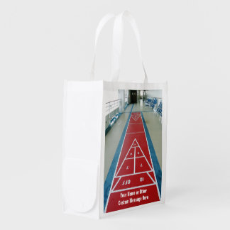 Shuffleboard on Board Custom Double Sided Market Totes