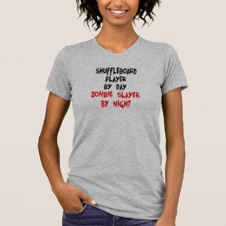 Shuffleboard Player Zombie Joke T-Shirt