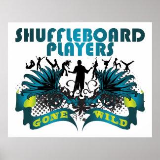 Shuffleboard Players Gone Wild Poster