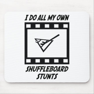 Shuffleboard Stunts Mouse Mats