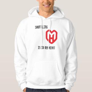 Shuffling is in my heart PHD jacket