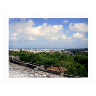 Shurijo Castle/ Greetings from Okinawa, Japan Postcard