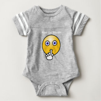 Shush Be Quiet NIGHT NIGHT Baby Bodysuit
