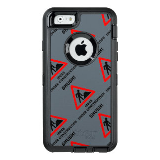 Shush! Ideas Under Construction Sign Humor OtterBox iPhone 6/6s Case