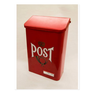 SHUSH Museum Exhibit 07: Alfred Nobel's Postbox Postcard