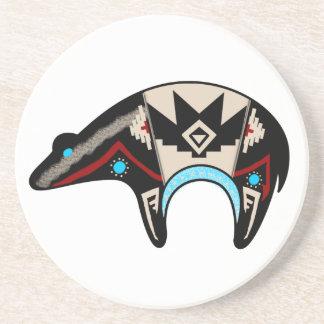 Shush - Navajo Bear Coaster