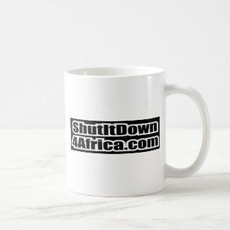 Shut It Down 4 Africa Coffee Mug