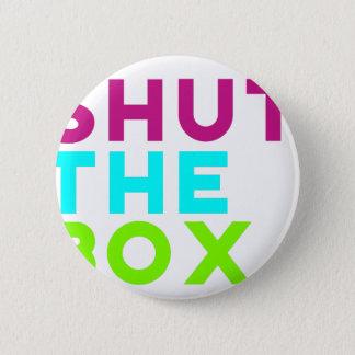 Shut The Box Logo 2 Inch Round Button