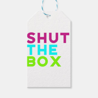 Shut The Box Logo Gift Tags