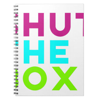 Shut The Box Logo Notebook