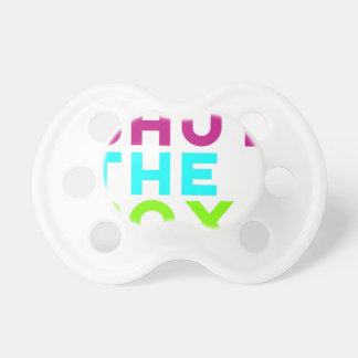 Shut The Box Logo Pacifier