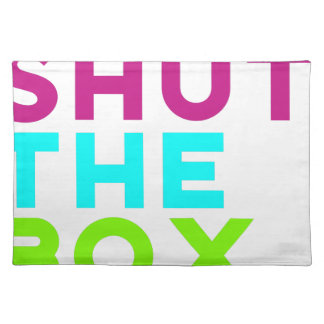 Shut The Box Logo Placemat