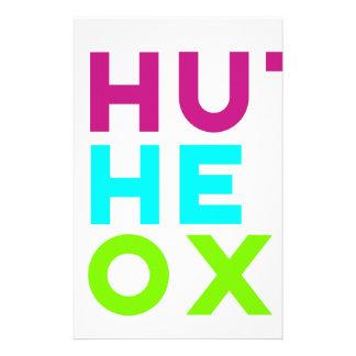 Shut The Box Logo Stationery