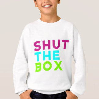 Shut The Box Logo Sweatshirt