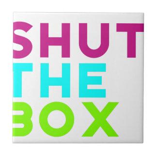 Shut The Box Logo Tile