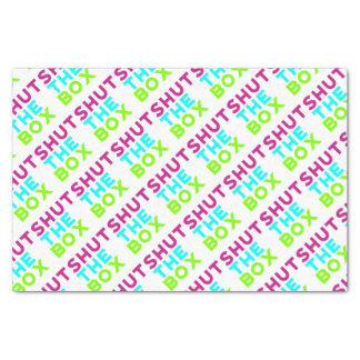 Shut The Box Logo Tissue Paper