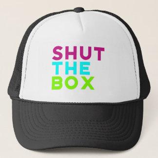 Shut The Box Logo Trucker Hat