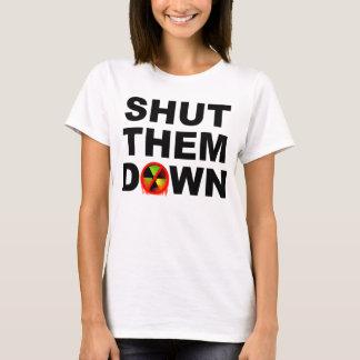 Shut Them Down No Meltdowns Slogan T-Shirt