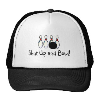 Shut Up and Bowl 2 Trucker Hat