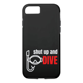 Shut up and dive iPhone 8/7 case