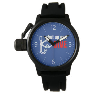 Shut up and dive watches