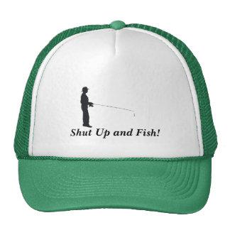 Shut Up and Fish! Trucker Hat