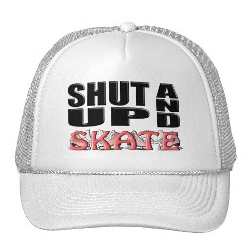 SHUT UP AND SKATE(Figure) Trucker Hat