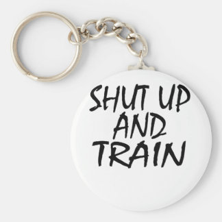 SHUT UP AND TRAIN HOODIE SWEATSHIRT . KEYCHAIN
