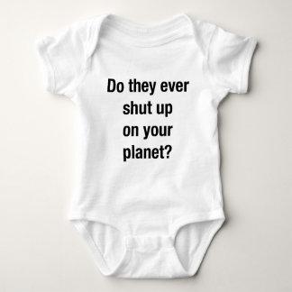 SHUT UP! BABY BODYSUIT